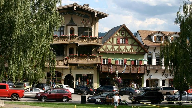 Bavarian Village in Leavenworth Washington