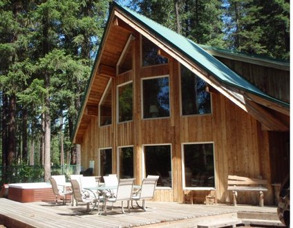 Jordan Lodge: Riverfront with Perfect Setting