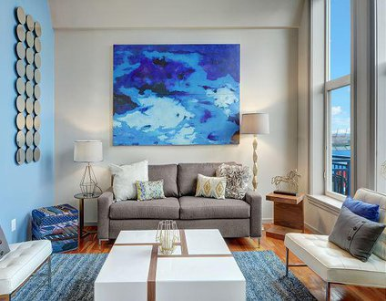 Belltown Court Water View Penthouse