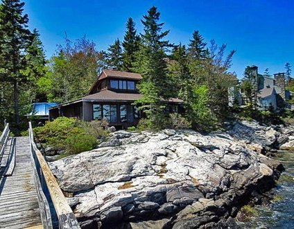 Docs Place On Southport Island | Cape Newagen | Stone Fireplace | Private Dock & Float