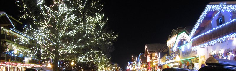 Leavenworth winter events