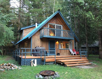 48SL - Hot Tub - Pets Ok - WIFI - Wood Stove - Sleeps 5