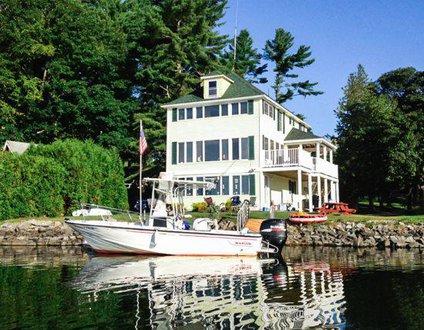 Sunshine Cottage On Cobbossee Lake Winthrop, Maine