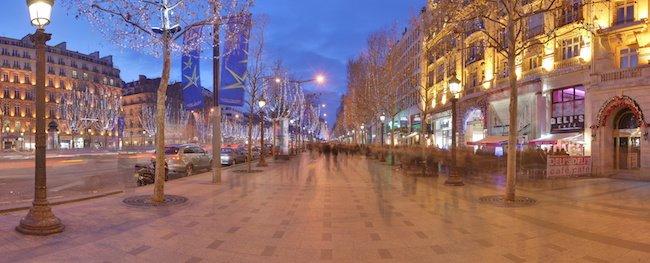Champs Elysee at Christmas