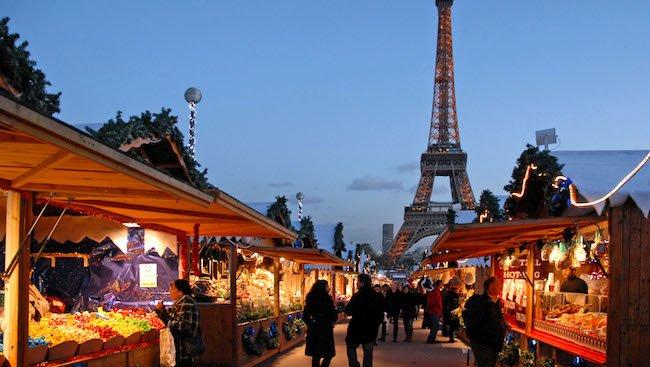 Paris Lights Christmas
