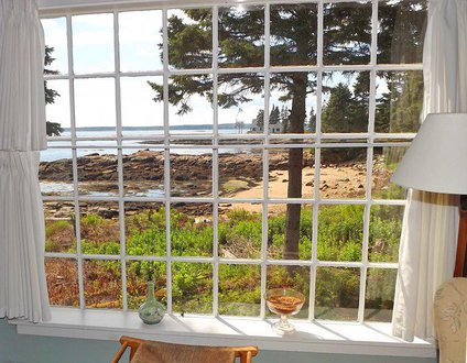 Barnacles Cottage On Southport Island | Pet Friendly, Oceanfront & Private Beach