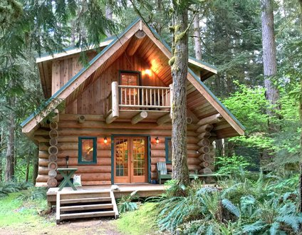 10SL - Real Log Cabin - WiFi - Sleeps-8