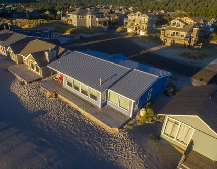 At Last #112 - Oceanfront home, direct beach access, wall of windows.