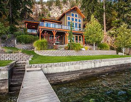Timber Lodge Waterfront Retreat