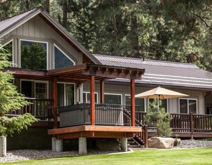 Riverside Cabin & Loft