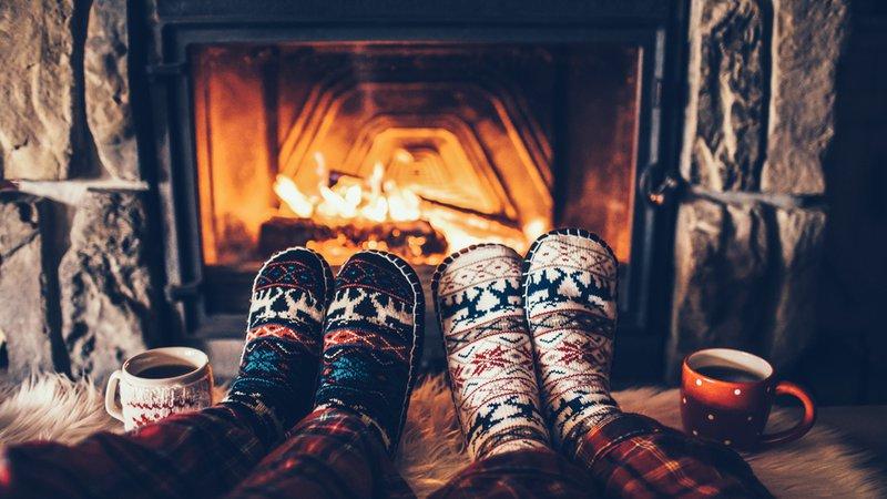 cozy fireplaces