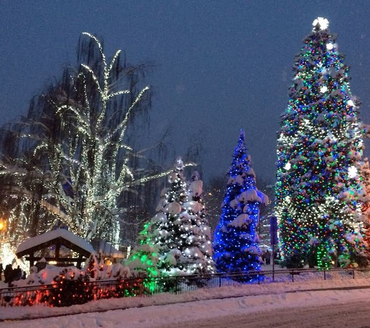 Leavenworth Washington at Christmas