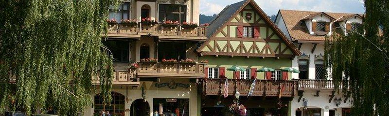 Bavarian Village in Leavenworth Washington