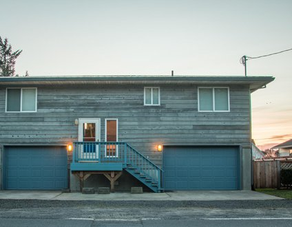 Slow Down House #124 - Affordable cabin on the canal in Pacific City.. Fun game room!