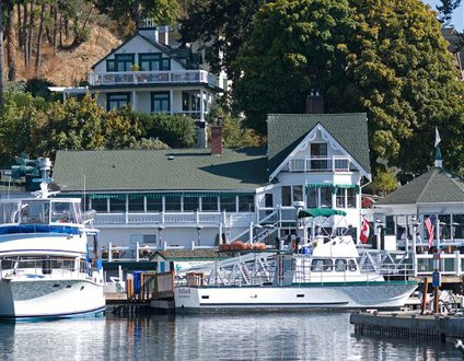San Juan Island, Cottage at Roche Harbor
