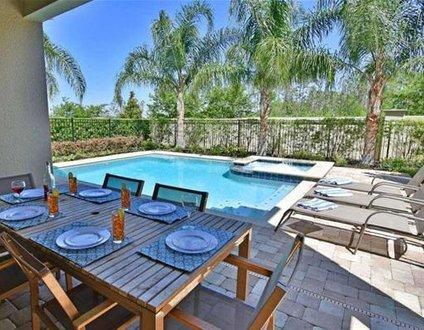 551-Luxury Villa Private Pool-Hot Tub-Game Room