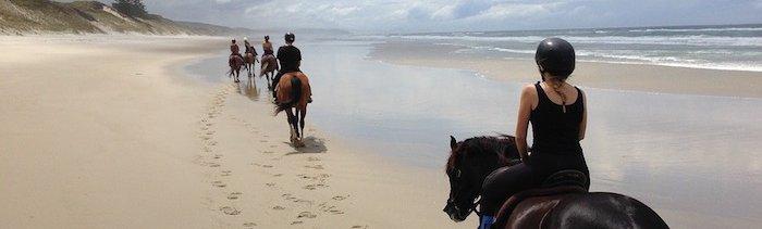Cannon Beach horse ride