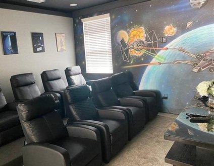 451-Luxury Villa Pool-Arcade-Movieroom